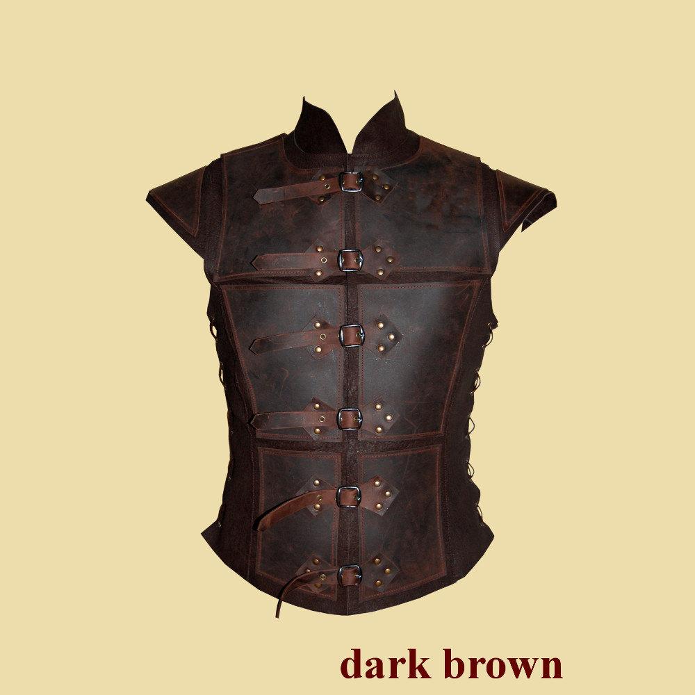 Larperlei Reinforced Leather Jerkin